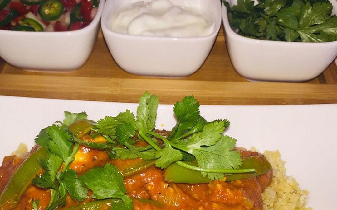 Chicken Tikka Marsala & Cauliflower Rice